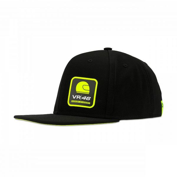 VR46 Sapca ADJ Cap Corporate Black RAMCA317904