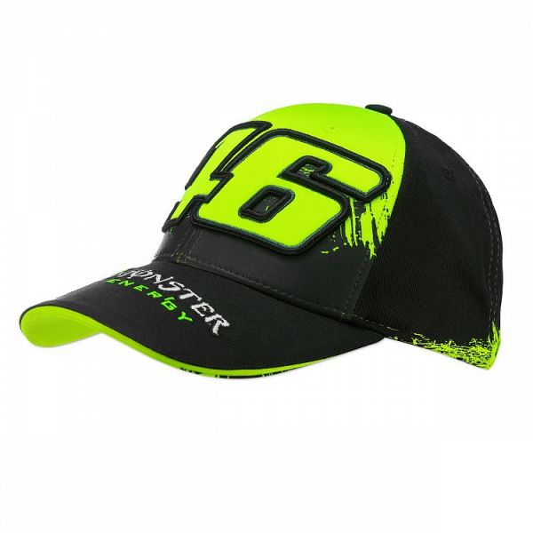 VR46 Sapca Monster Replica Black MOMCA315803