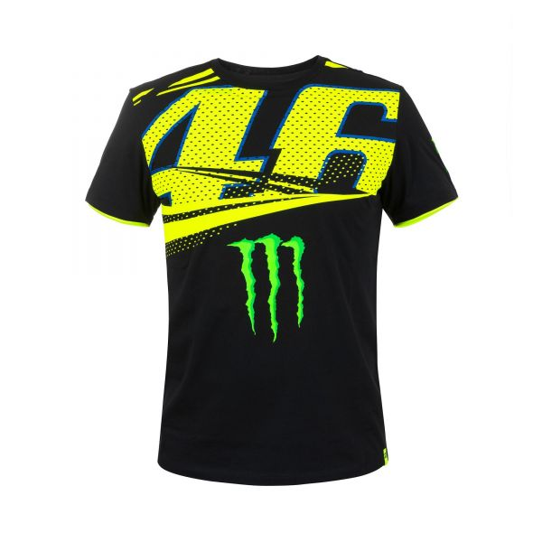 VR46 Tricou Monster Monza Black MOMTS316204