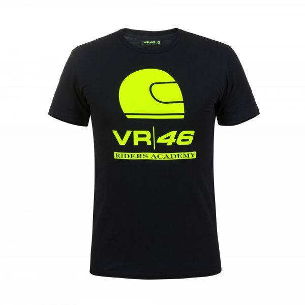 VR46 Tricou Rossi Corporate Black RAMTS318004NF