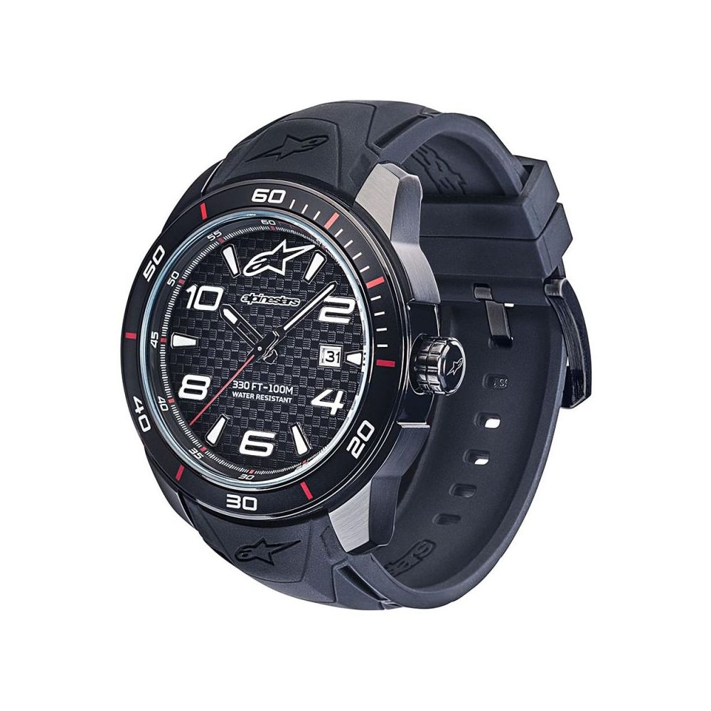 Ceas Tech 3H Black/Black