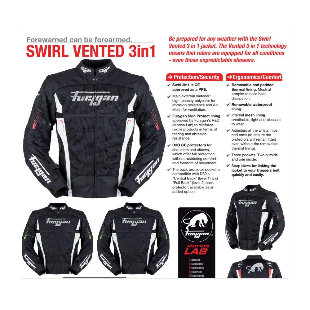 72e751c0edc11 Swirl Vented 3 In 1 18 Textile Summer Jacket Street Bikes Textile ...