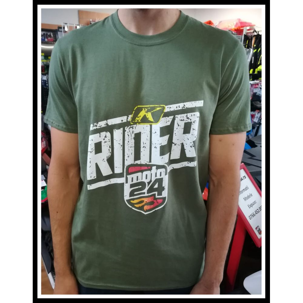 Tricou Rider Military Green 2019